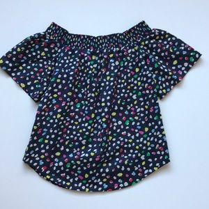 J. Crew • Short Sleeve Top • Sz 0